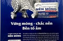 Vicem hà Tiên ra mắt sản phẩm VIECM HÀ TIÊN NỀN MÓNG