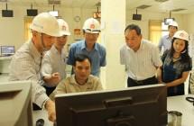 Đoàn kiểm tra UBND tỉnh Hải dương làm việc tại nhà máy xi măng Phúc Sơn.